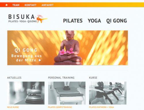 BISUKA mit neuem Design im Web