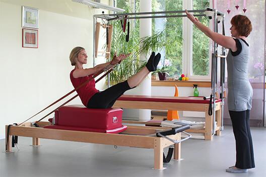 Pilates Gerätetraining