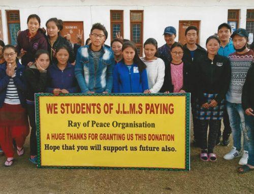 Spende für den Bau des Hostel im Schulprojekt Jamyang Ling